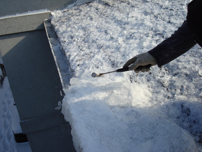 Ice Dams And Roof Damage Does Discharge Uphill New Home